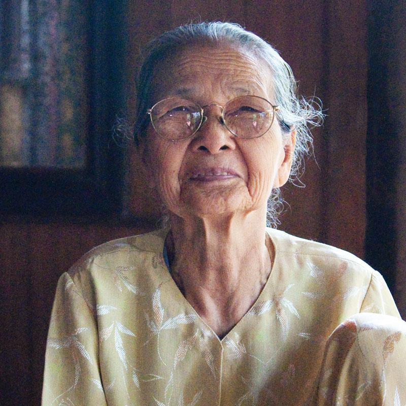 Elderly Asian Woman